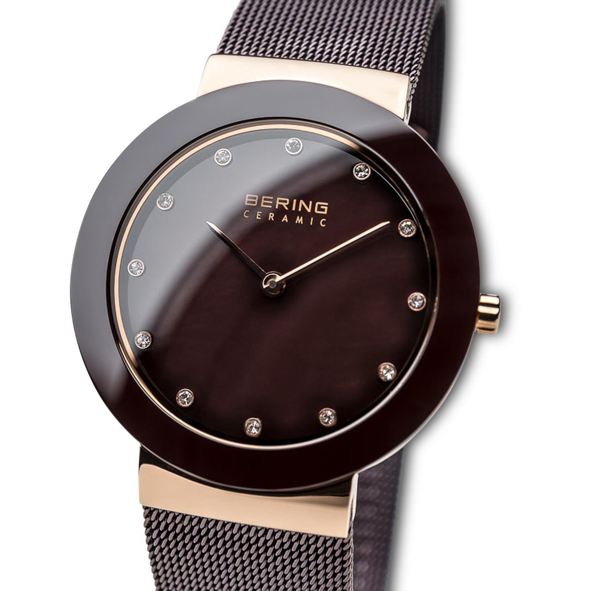 Bering Brown Analogue Women's Watch – 11435-262