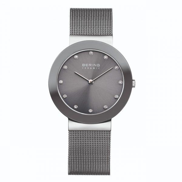 Bering Grey Analogue Women's Watch – 11435-389
