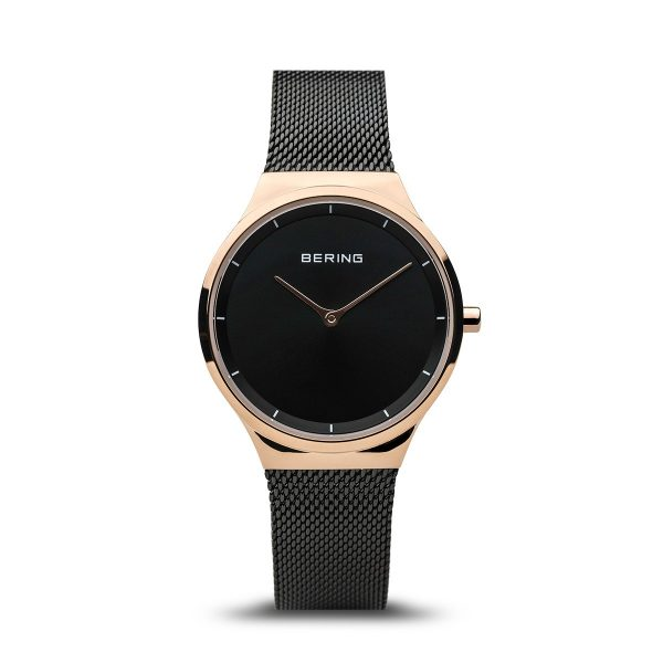 Bering Black Analogue Women's Watch – 12131-162
