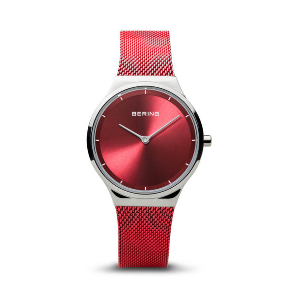 Bering Red Analogue Women's Watch – 12131-303(2)