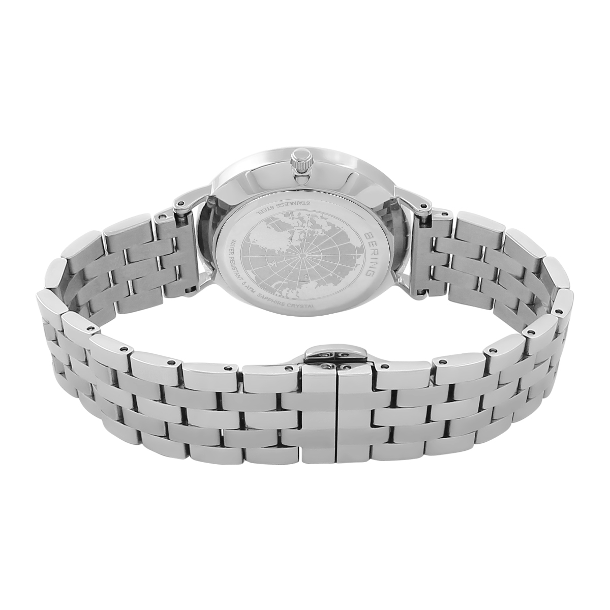 Bering Silver Analogue Women's Watch – 14236-700