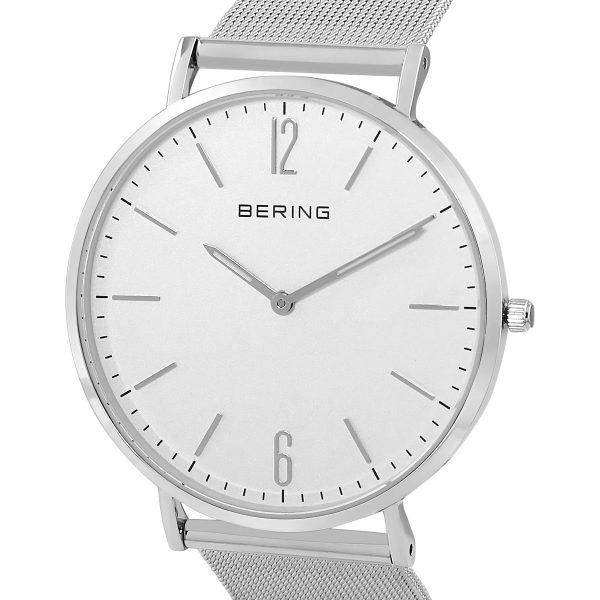 Bering White Analogue Men's Watch – 14241-004