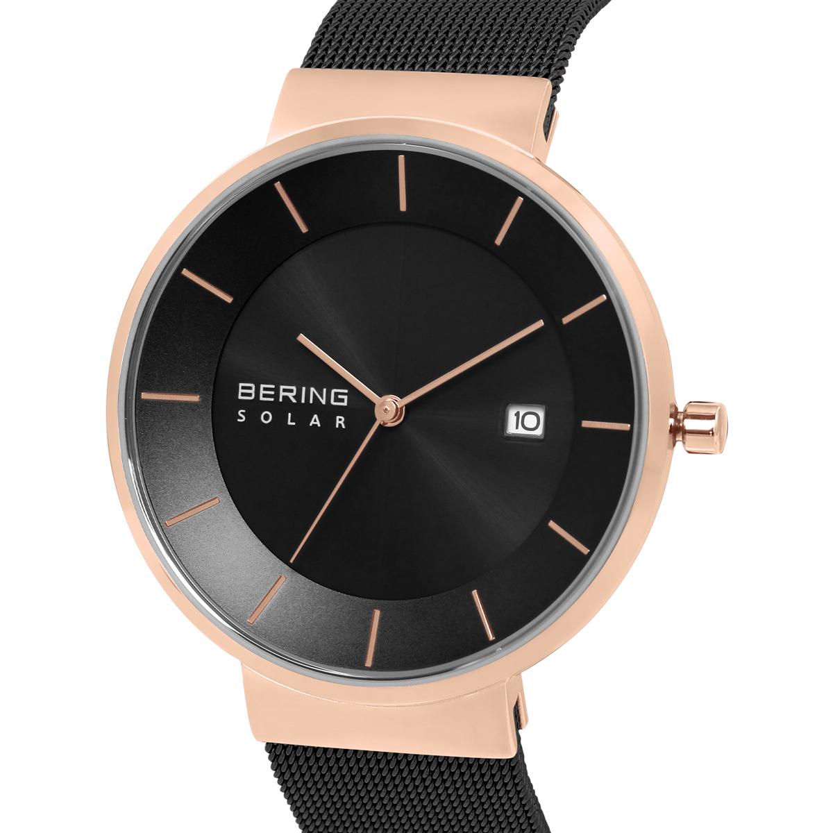 Bering Black Analogue Men's Watch – 14639-166