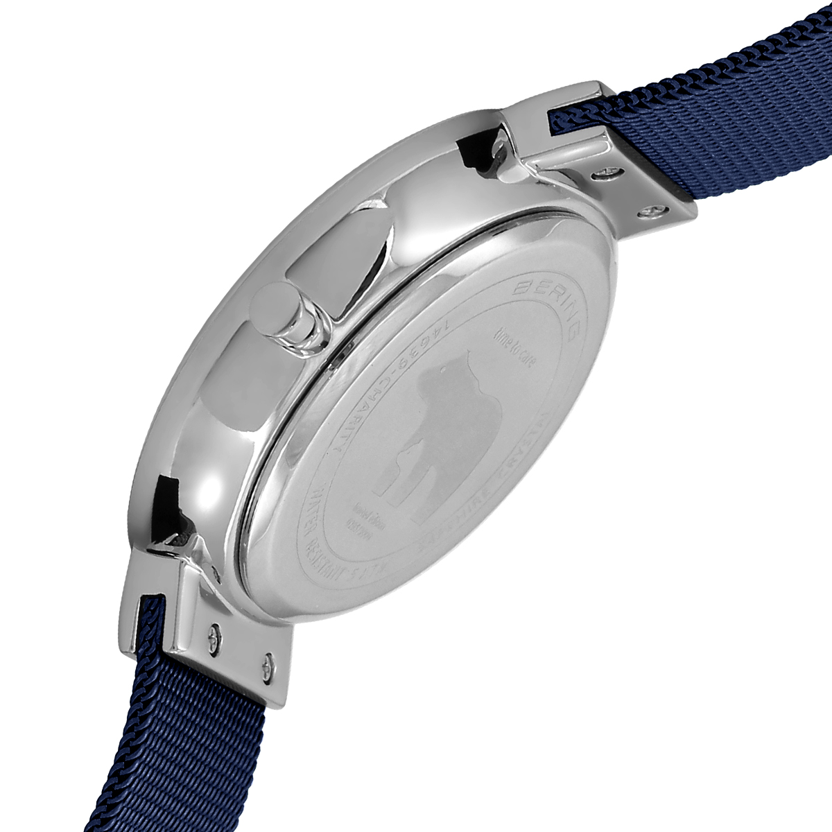 Bering Blue Analogue Men's Watch – 14639-307