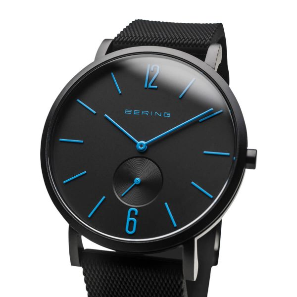 Bering Black Analogue Men's Watch – 16940-499