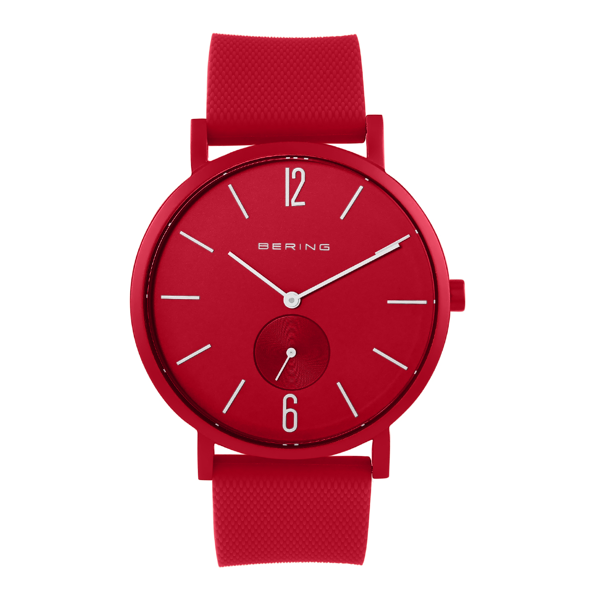 Bering Red Analogue Men's Watch – 16940-599