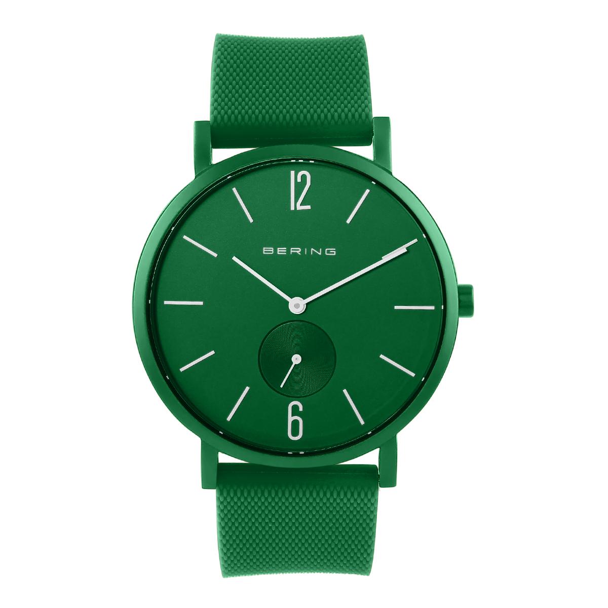 Bering Green Analogue Men's Watch – 16940-899