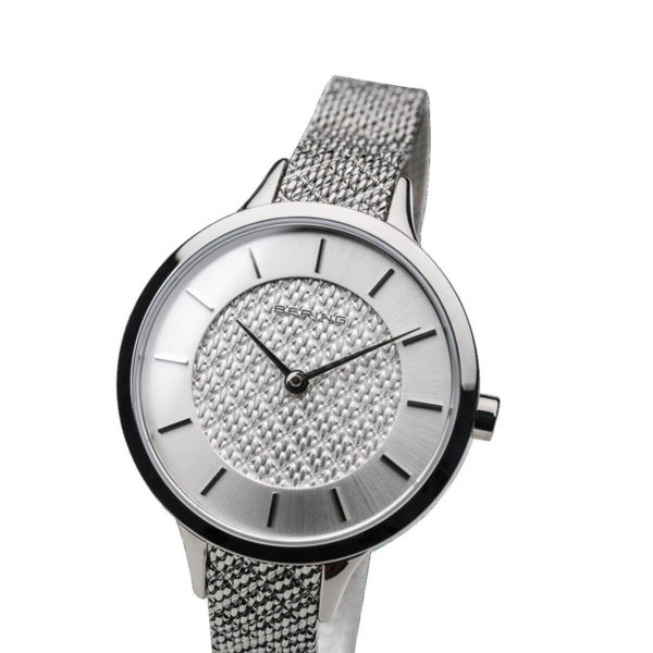 Bering Silver Analogue Watch For Women 17831-000