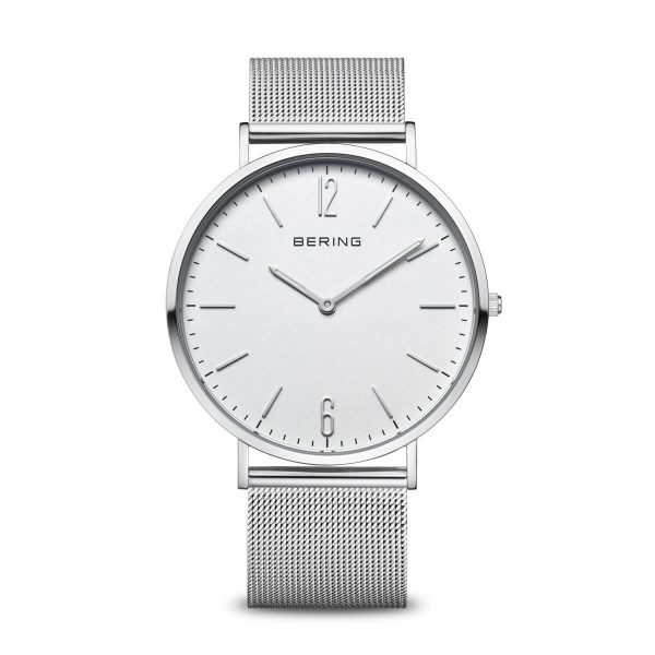 Bering White Analogue Men's Watch – 14241-004