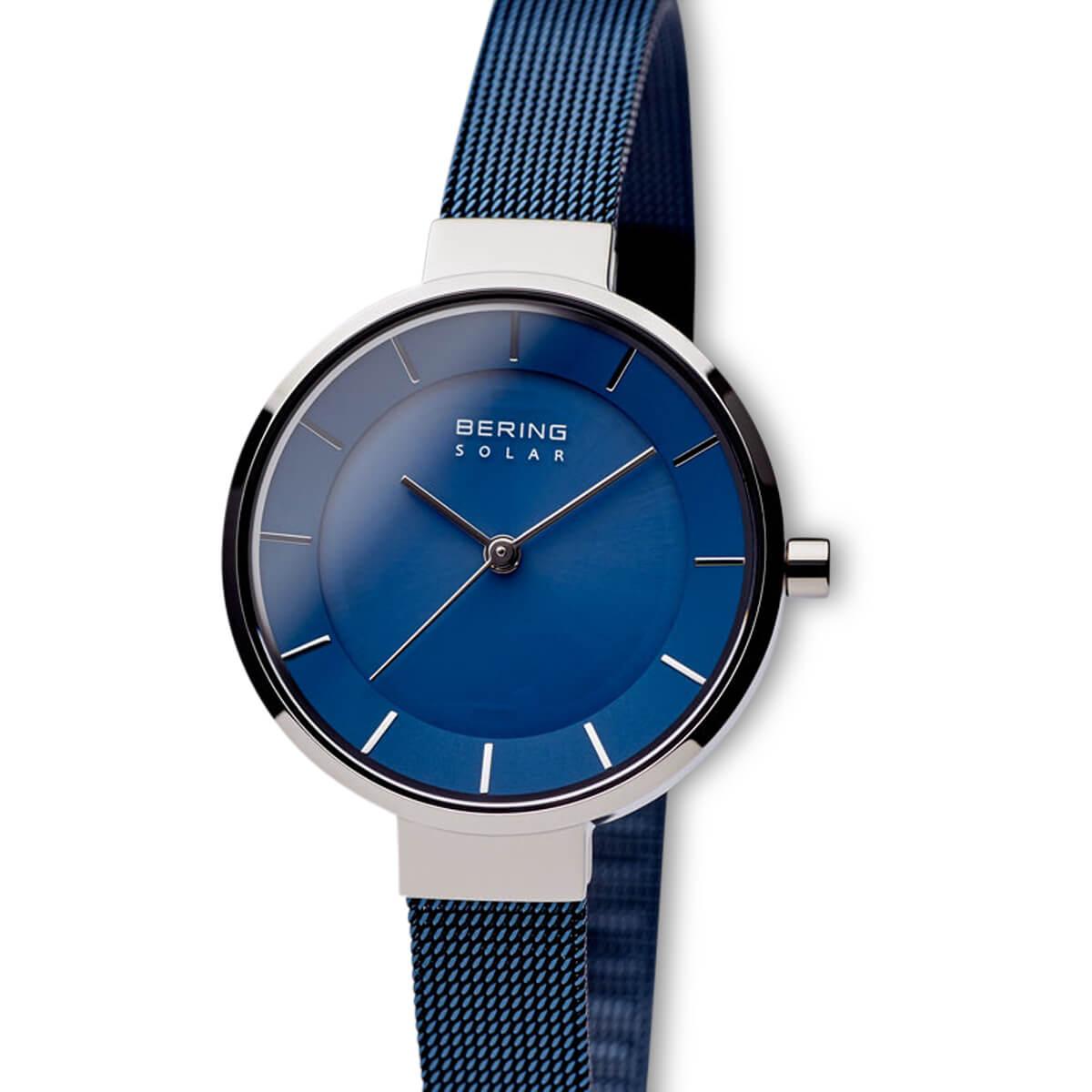 Bering Blue Analogue Women's Watch – 14631-307