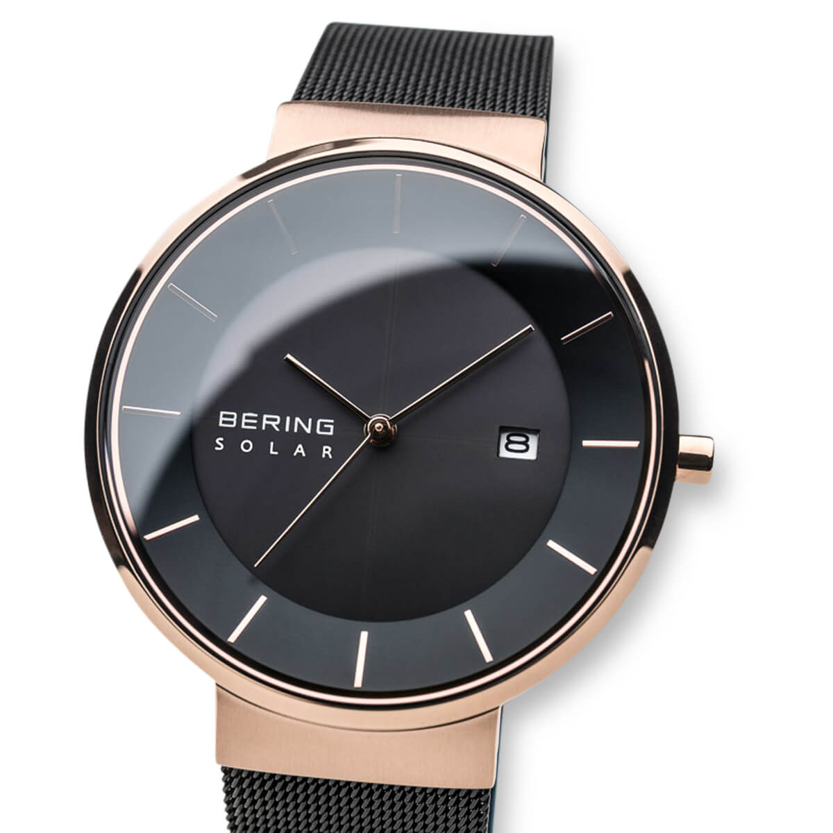 Bering Black Analogue Men's Watch – 14639-166