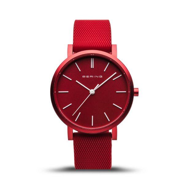 Bering Red Analogue Women's Watch – 16934-599
