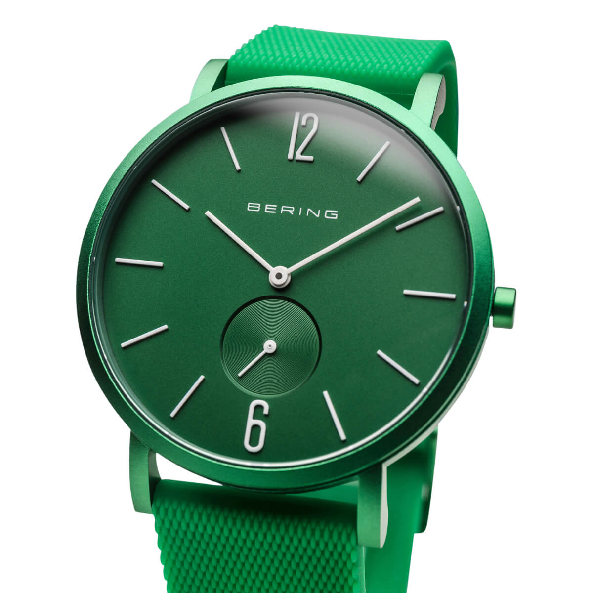Bering Green Analogue Men's Watch – 16940-899(2)