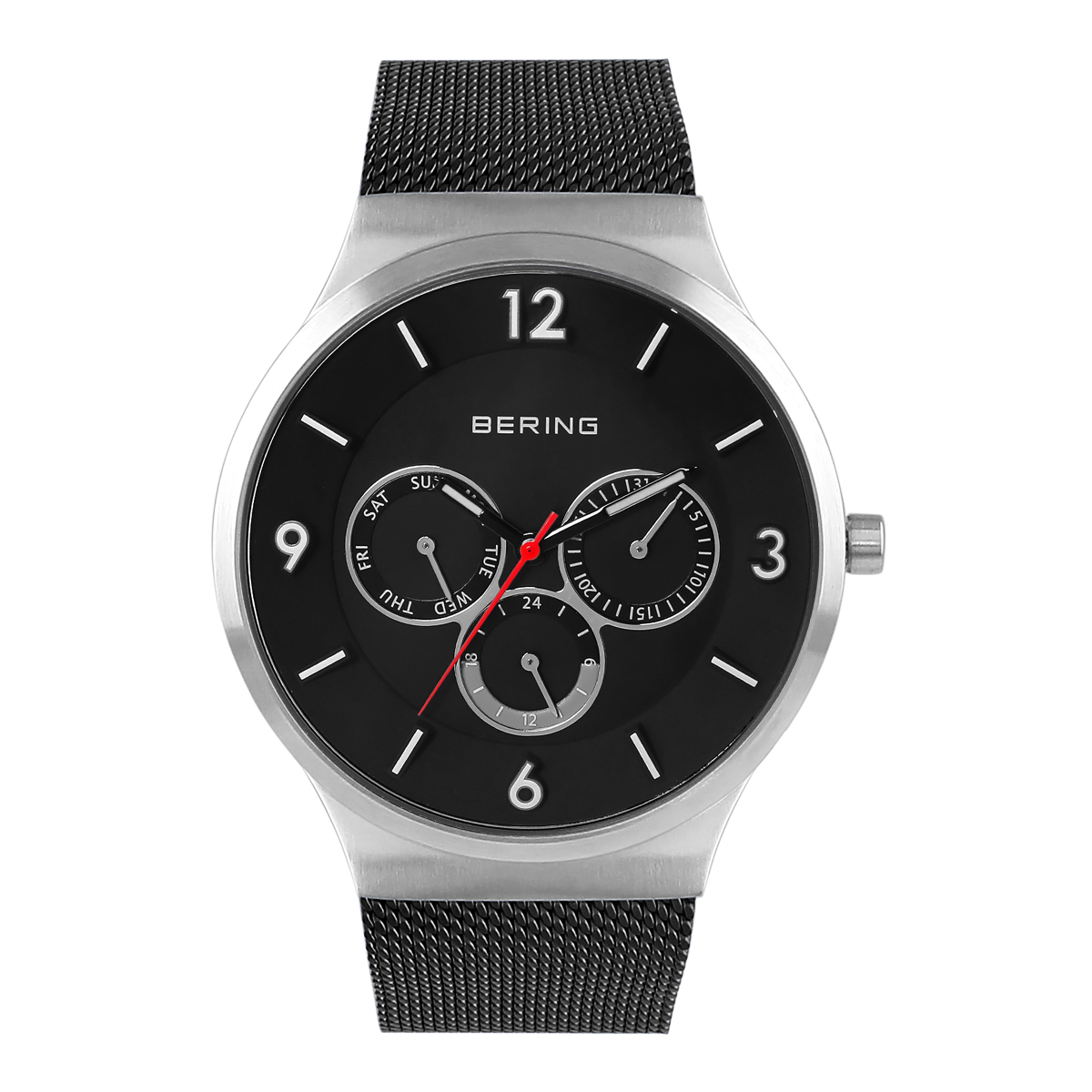 Bering Black Multifunction Men's Watch – 33441-102