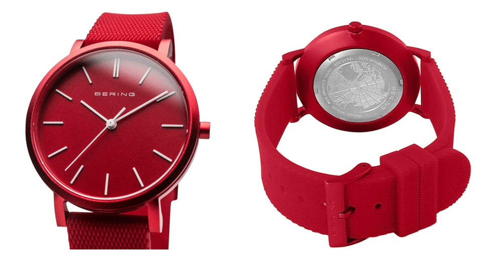Bering-Red-Analogue-Men's-Watch-16940-599
